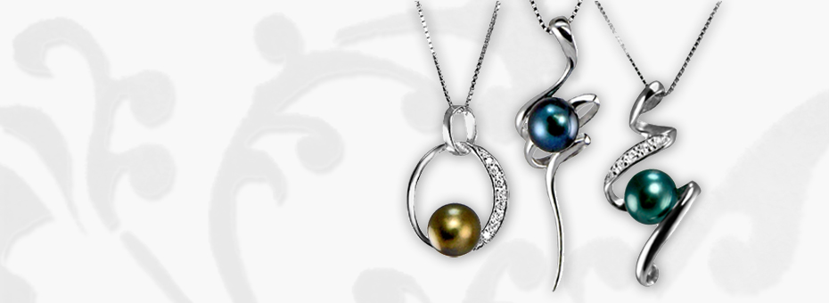 Sterling Silver and Freshwater Pearl Pendants