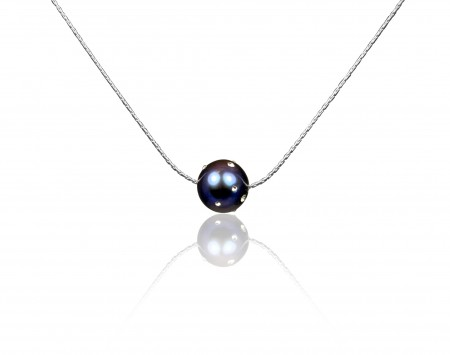 Black Freshwater Pearl Pendant