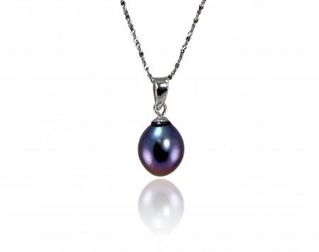 Black Freshwater Pearl Pendant