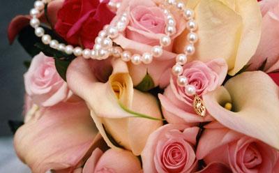 flowers-pearls